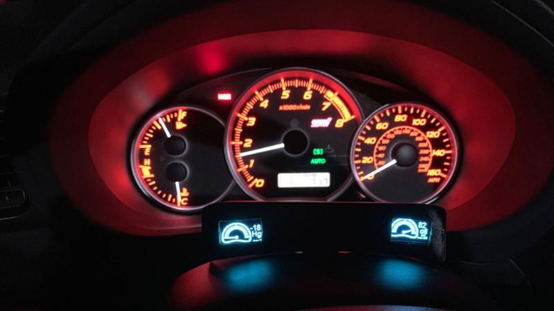 Turbo Subaru Gets DIY Gauges   Hackaday