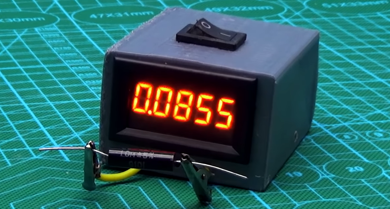 Your Own Milliohm Meter