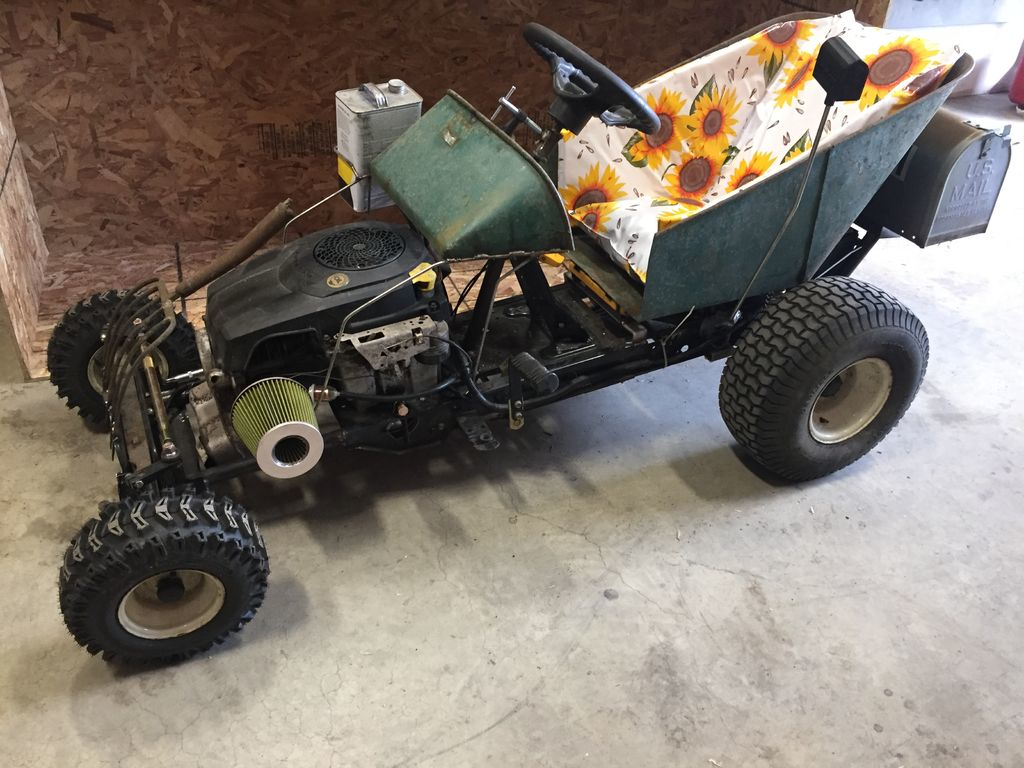 Postal Themed Rat Rod Mower Really Delivers Hackaday