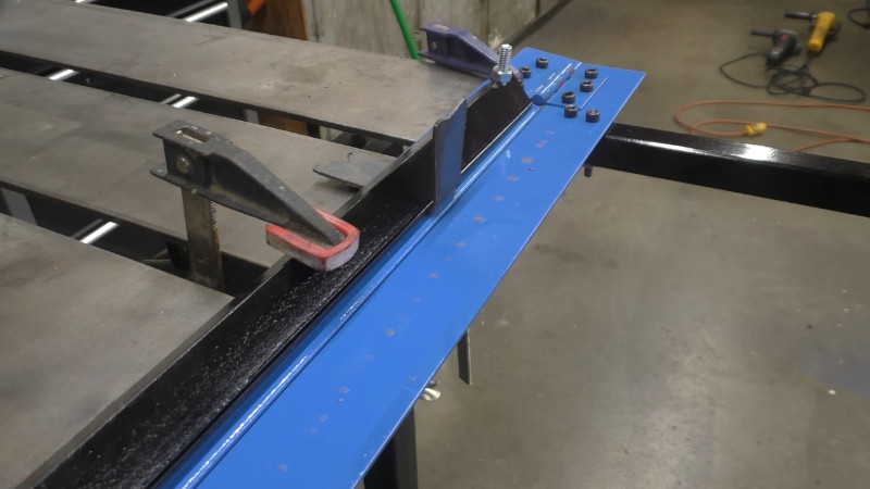 Sheet Metal Brake With No Welding