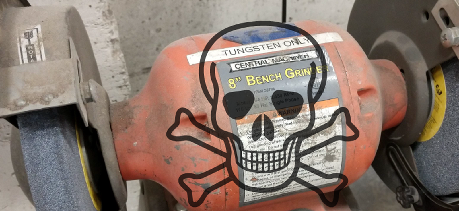 Enjoyable Stopping A Bench Grinder Quickly Hackaday Machost Co Dining Chair Design Ideas Machostcouk