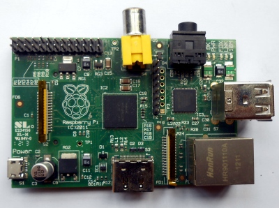 An early Chinese-made Pi Model B from 2012.