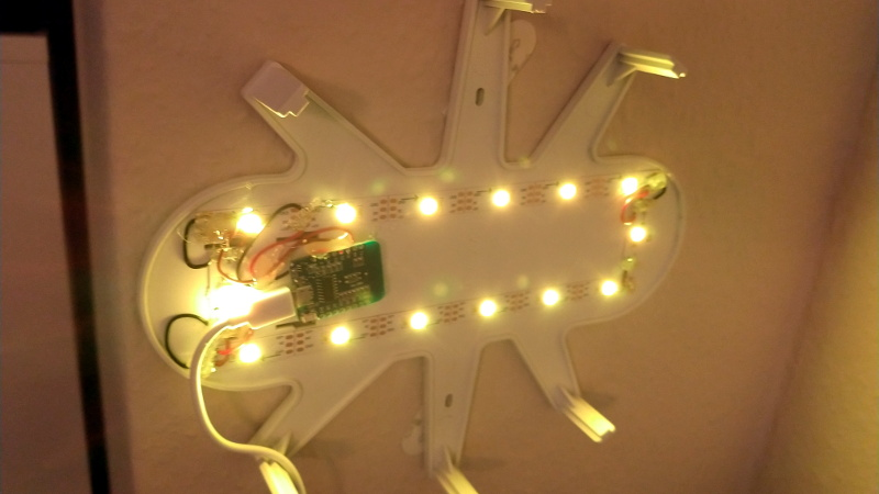 Ikea Cloud Lamp Displays The Weather With An Esp8266 Hackaday