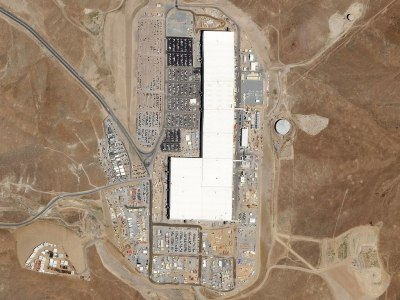 The first Tesla Gigafactory. Planet Labs, Inc. [CC BY-SA 4.0]