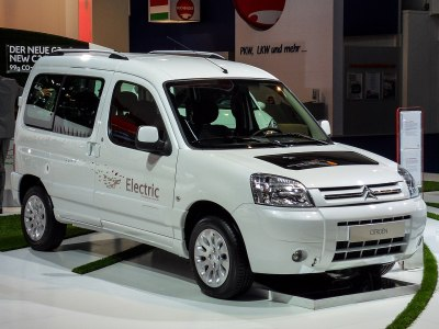The Citroën Berlingo électrique. Thilo Parg [CC BY-SA 3.0]