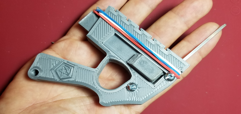 3D Printed Snap Gun For Automatic Lock Picking | Hackaday