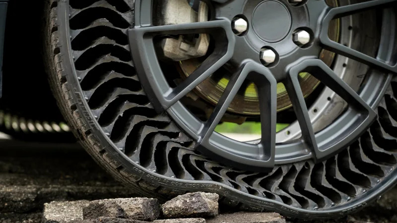 Airless Tire For Your Car: Michelin Says 2024, Here's What