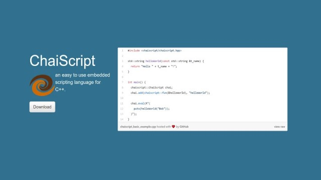 Add Scripting To Your C++ Programs With ChaiScript