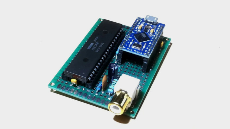 Chiptunes Via USB MIDI With The AY-3-8910