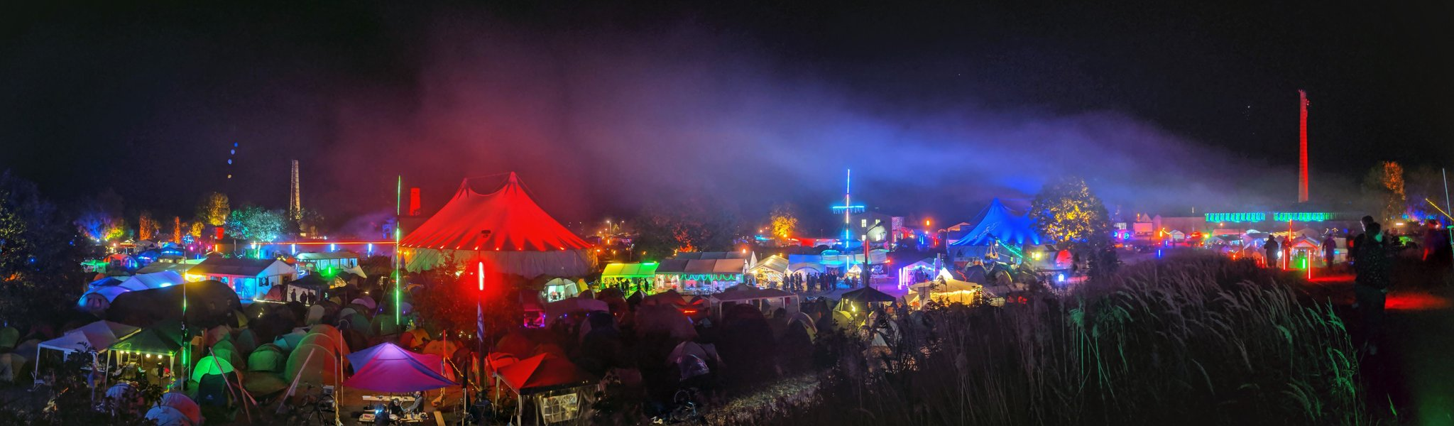 CCCamp: 5,000 Hackers Out Standing in Their Field
