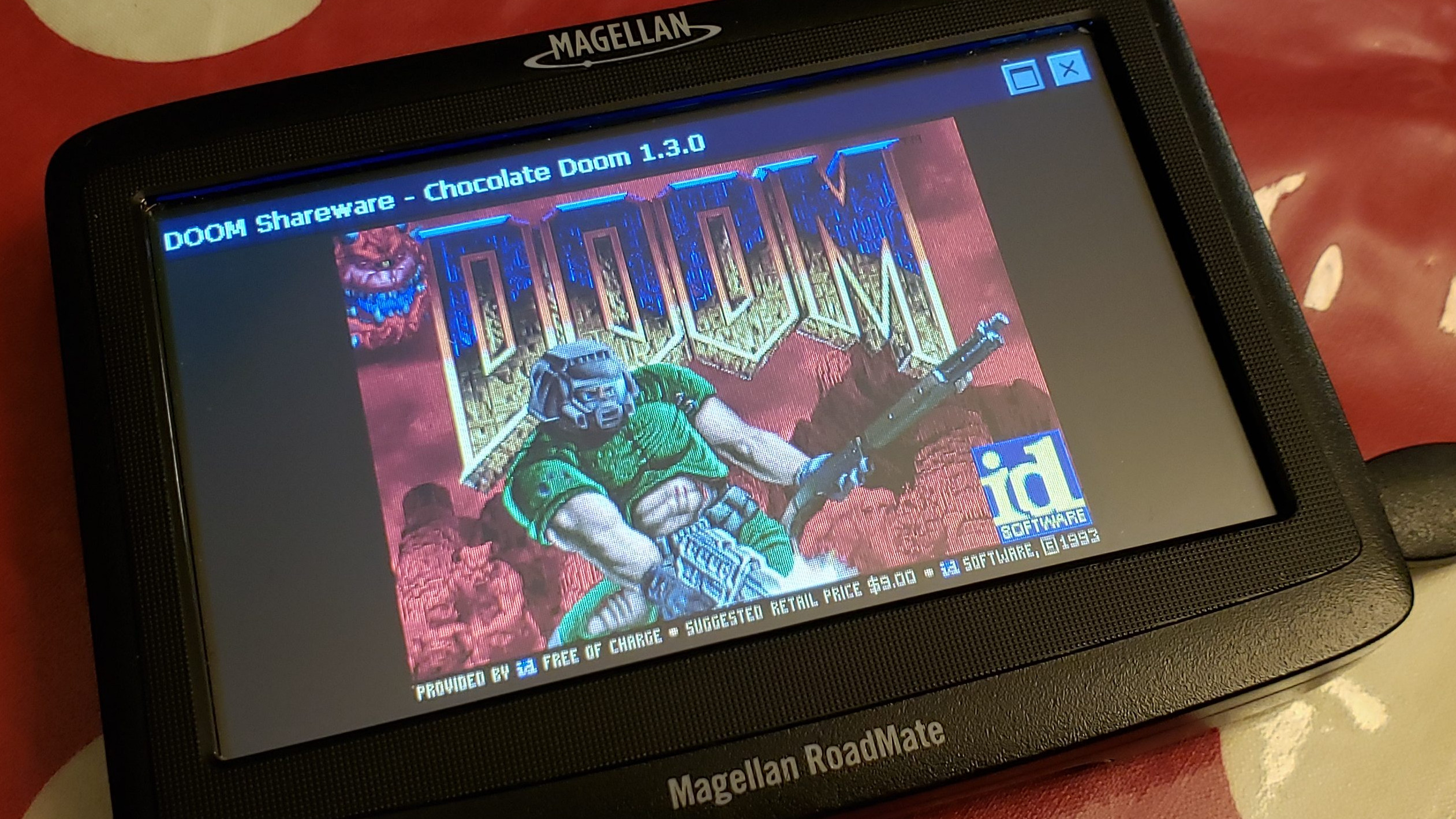 Running Doom On A Doomed GPS | Hackaday