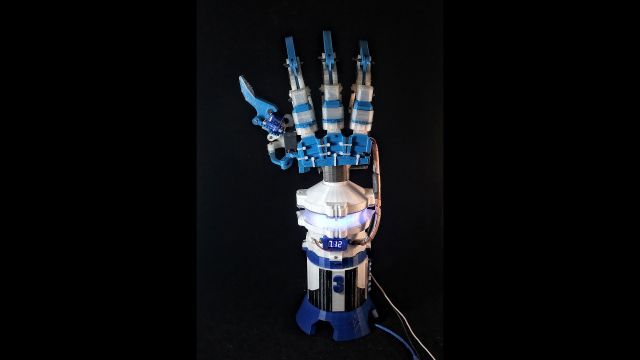 A Handy Way To Cheaply Print A Robotic Arm