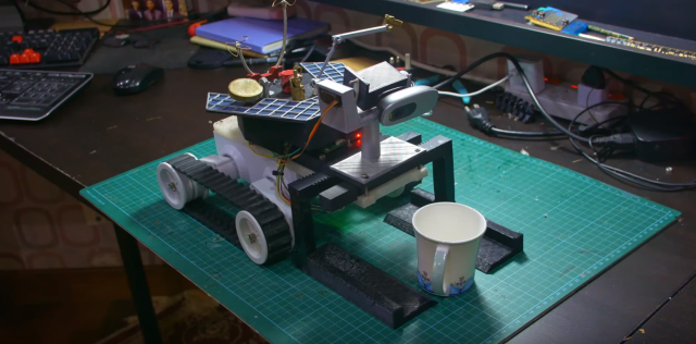 DIY Personal Assistant Robot Hears And Sees All