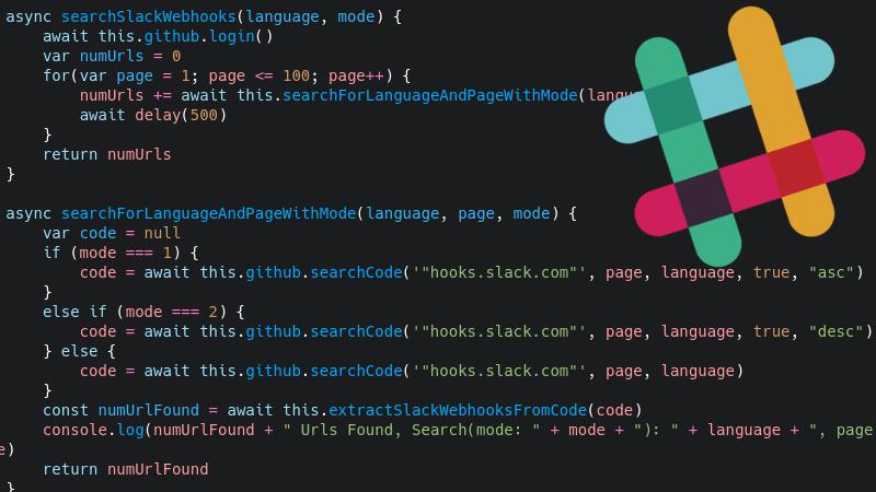 Cruising GitHub For Slack Webhook Tokens | Hackaday