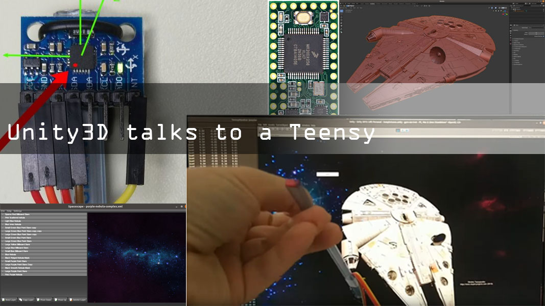 Millenium Falcon HID: Get Unity to Talk to Teensy