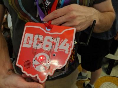 DC614 badge at DC27