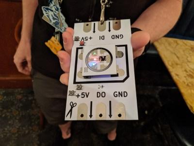 Pixel badge at DC27