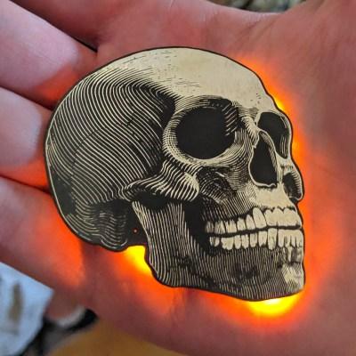 Skully badge DC27