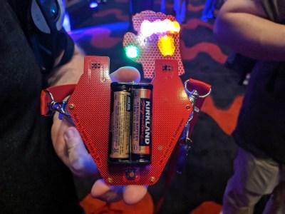 Arc reactor badge - rear