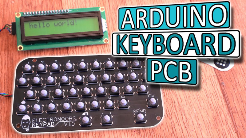 A Pocket QWERTY For Arduino And More | Hackaday