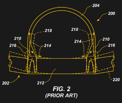 A cross-section of the aircraft wing fixing, in which we've highlighted the role of the pickle forks. (Boeing)