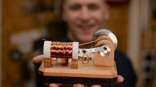 Build Your Own Solenoid Engine