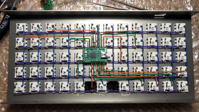 The Zen Of Mechanical Keyboard Wiring, Laptop Keyboard Wiring Diagram