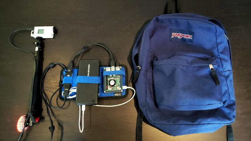 A Raspberry Pi 4 Video Streaming Backpack | Hackaday