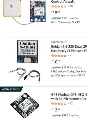 GPS Antennas are very cheap now.