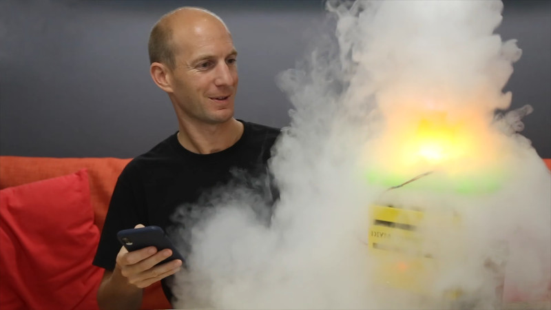 This Dry Ice Powered Fog Machine Is Perfect For Halloween