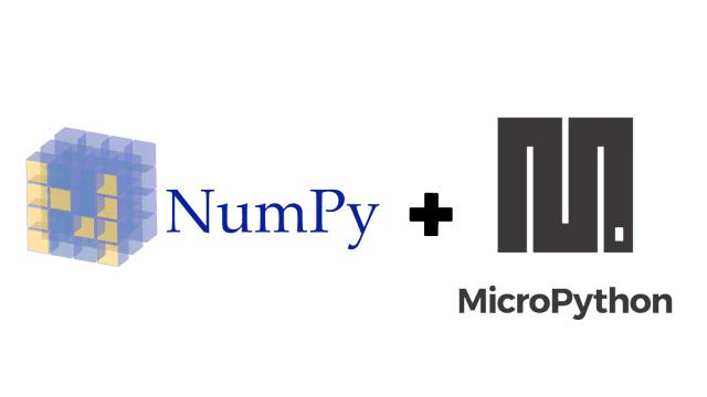 Numpy Comes To Micro Python