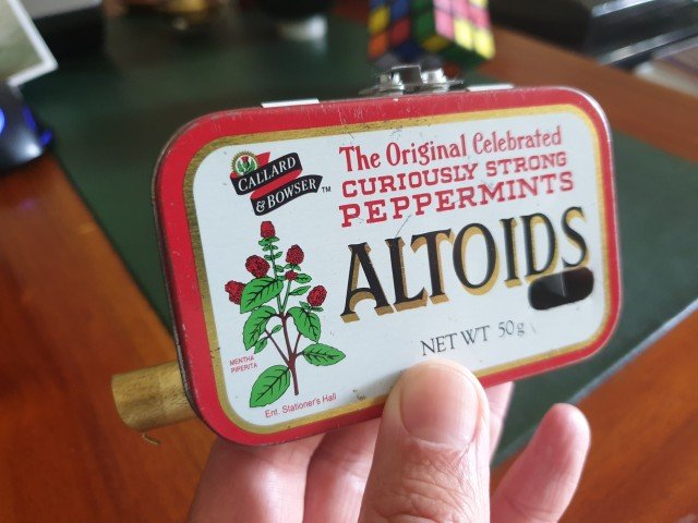 The World's Smallest Vacuum In An Altoids Tin