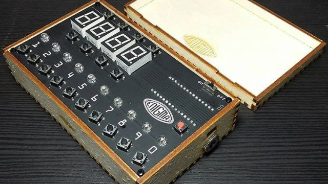 An Arduino And An Enigma All Rolled Into One