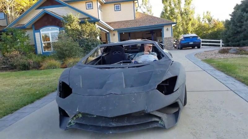 Diy Lambo That Made The Real Lamborghini Take Notice Hackaday