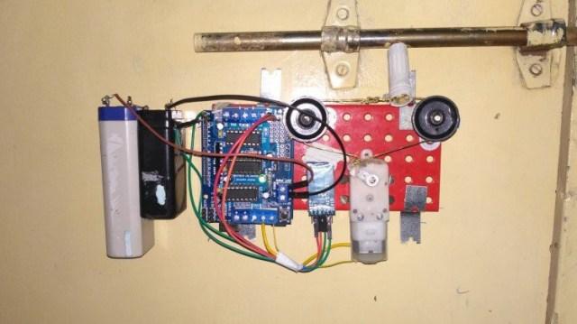A Simple App Controlled Door Lock
