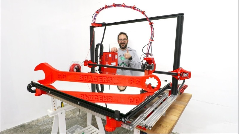 Beste Giant 3D Printer For Giant Projects | Hackaday IP-45