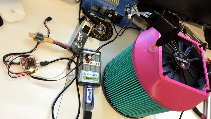 Building And Testing A Diy Air Purifier Hackaday