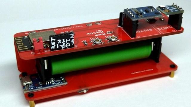 A Slightly Bent ESP8266 Sensor Platform