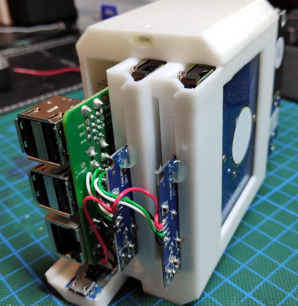 A Very Buttoned Up Raspberry Pi Media Server