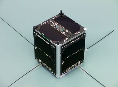 The FUNcube-1 CubeSat. Pa3weg / CC BY 3.0