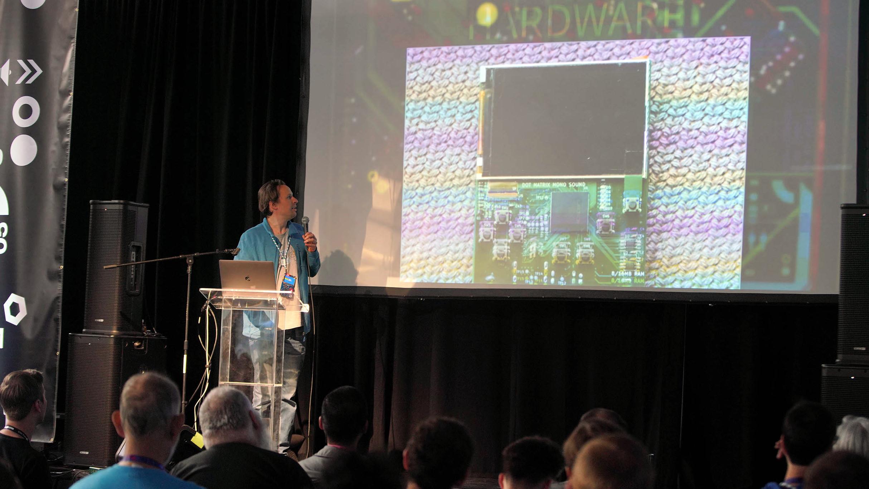 Machine Inside Of A Chip: How Sprite_TM Built The FPGA Game Boy Badge