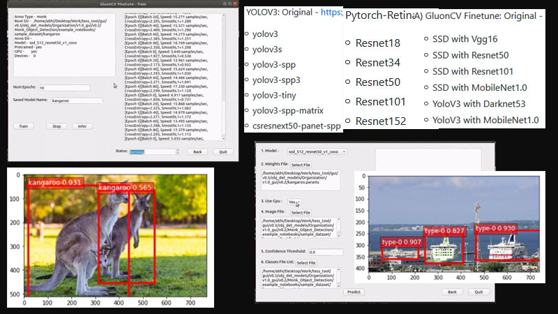 OpenSource GUI Tool For OpenCV And DeepLearning