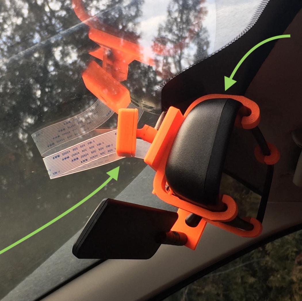 I Brake For Foxes License Plate Frame Tag Holder