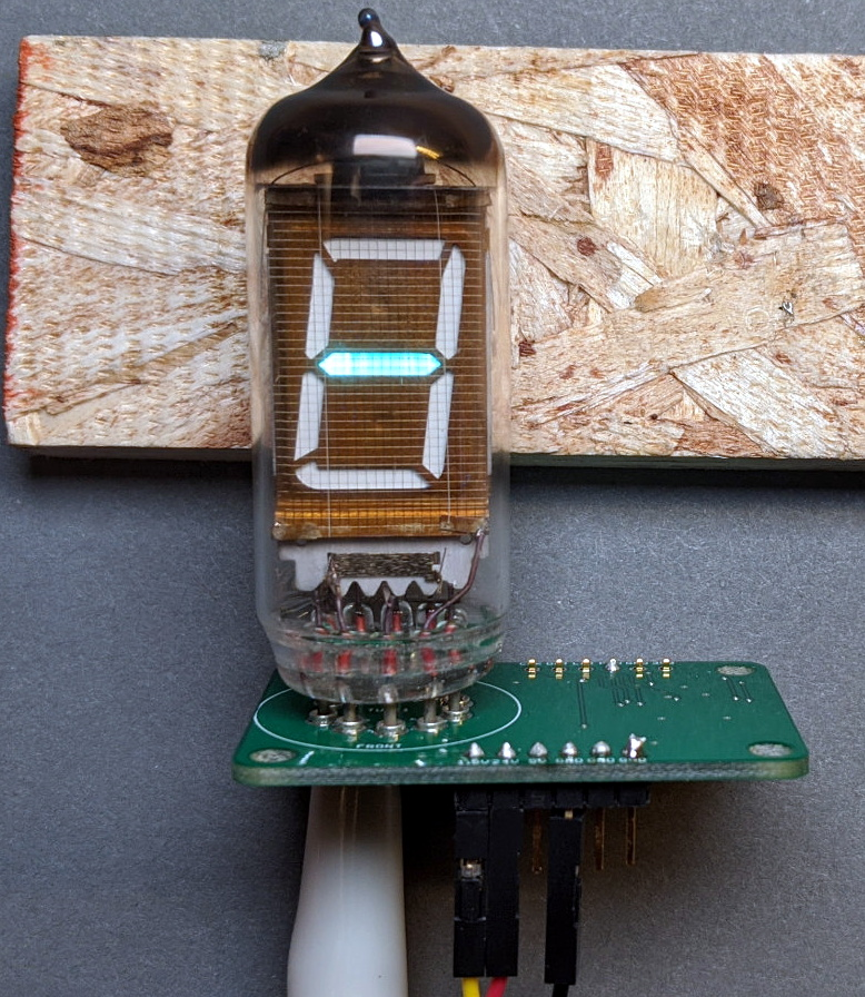A Network Attached VFD Tube Clock