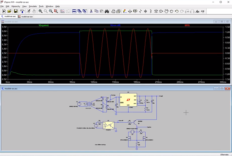 Solid State Relay Simulation, Explained