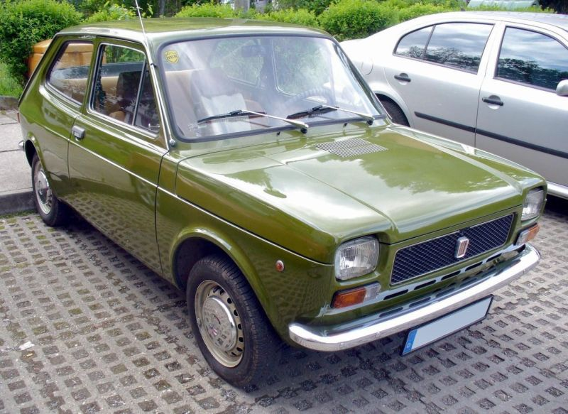 The FIAT 127 is better known for rusting than for modernity, but under the skin it's the precursor of your car today.