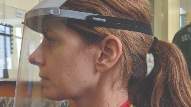 GREEN Durable Medical Face Shield Visor!Made in USA BULK Reusable-3D Printed