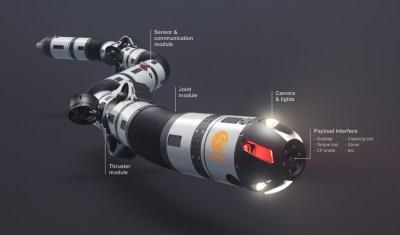 Eelume |Une anguille robotisée dans les pipelines sous-marins