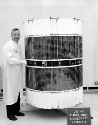 The LES-5 spacecraft