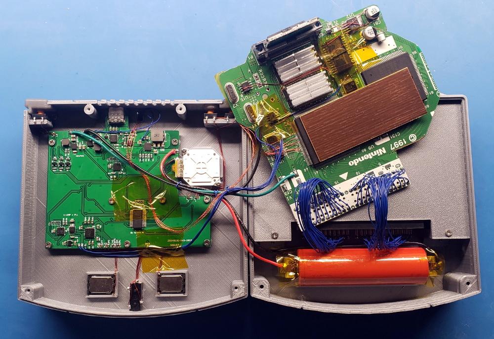parallel port game shark wiring diagram n64 hackaday  n64 hackaday